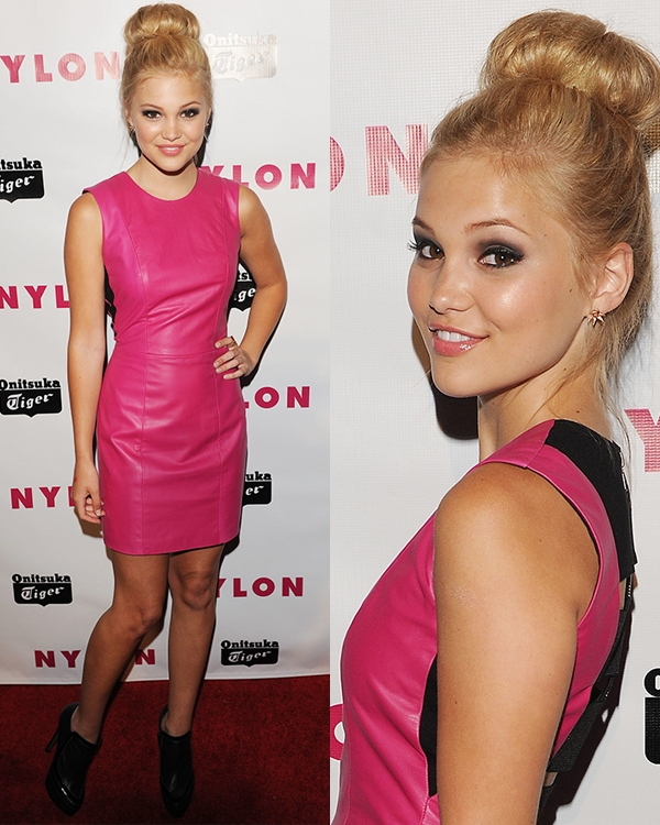 Olivia Holt at Nylon Magazine Young Hollywood Party on May 14, 2013