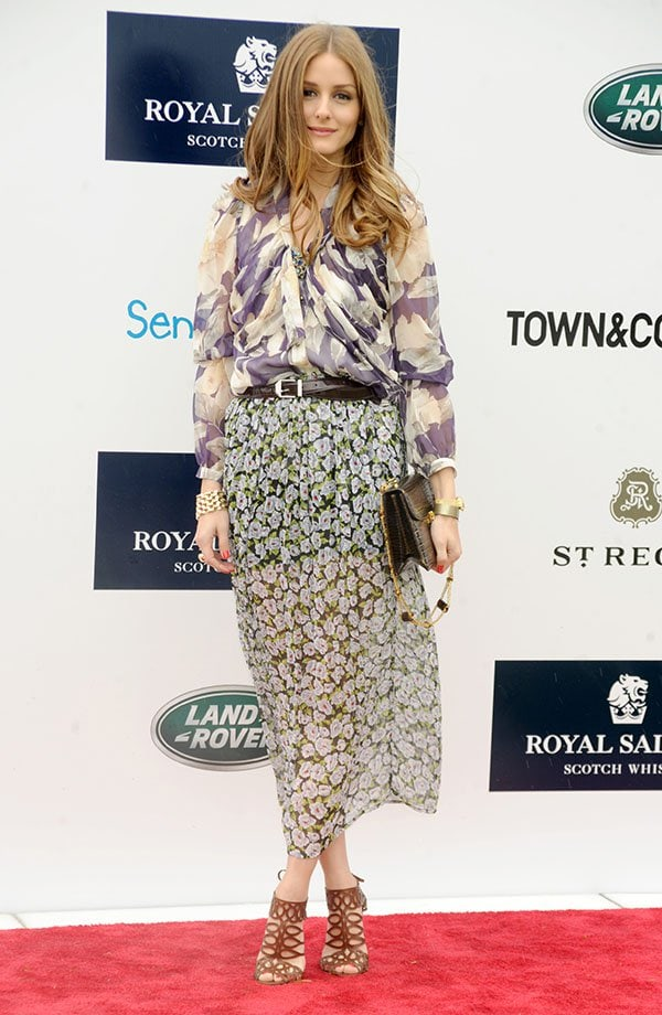 Olivia Palermo at The Sentebale Royal Salute Polo Cup held at The Greenwich Polo Club on May 15, 2013