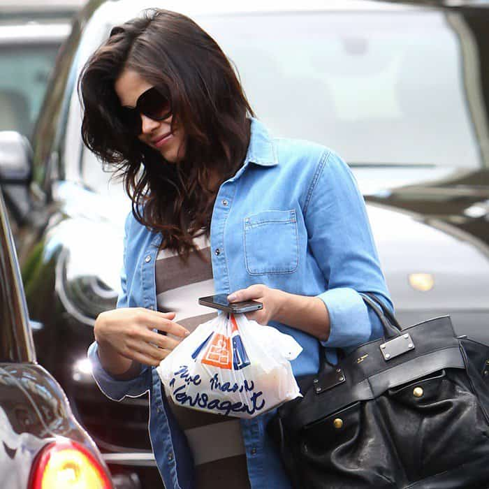 Jenna Dewan-Tatum seen leaving a private residence in North London on May 23, 2013