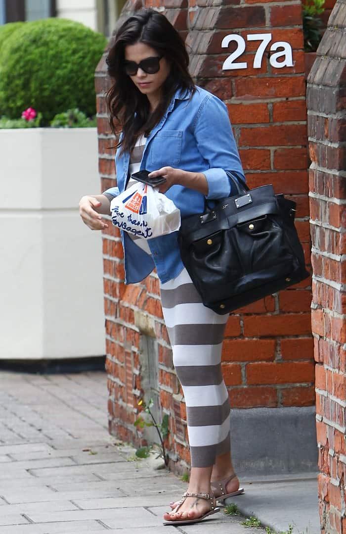 Jenna Dewan Tatum Pregnant Belly