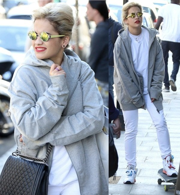 Rita Ora out and about in West London on May 2, 2013