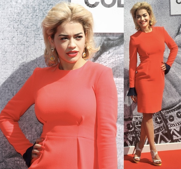 Rita Ora at the launch of the British Designer's Collective in Bicaster Village, Oxfordshire, London on May 2, 2013