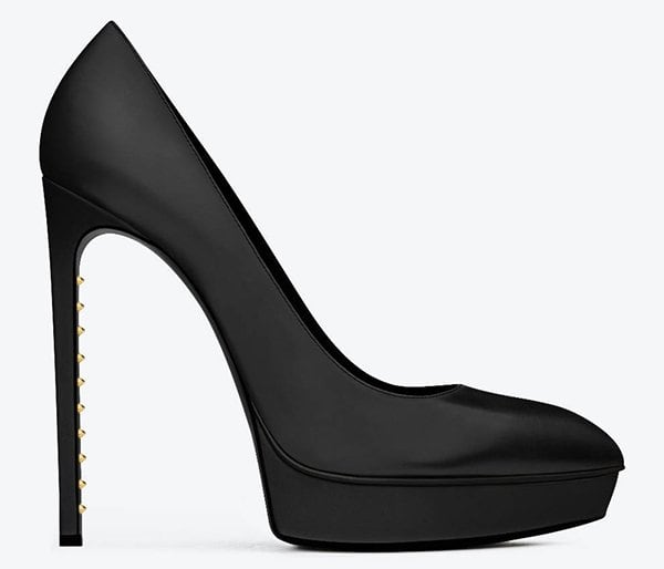 "Saint Laurent Classic ""Janis Clous Escarpin"" Pumps"