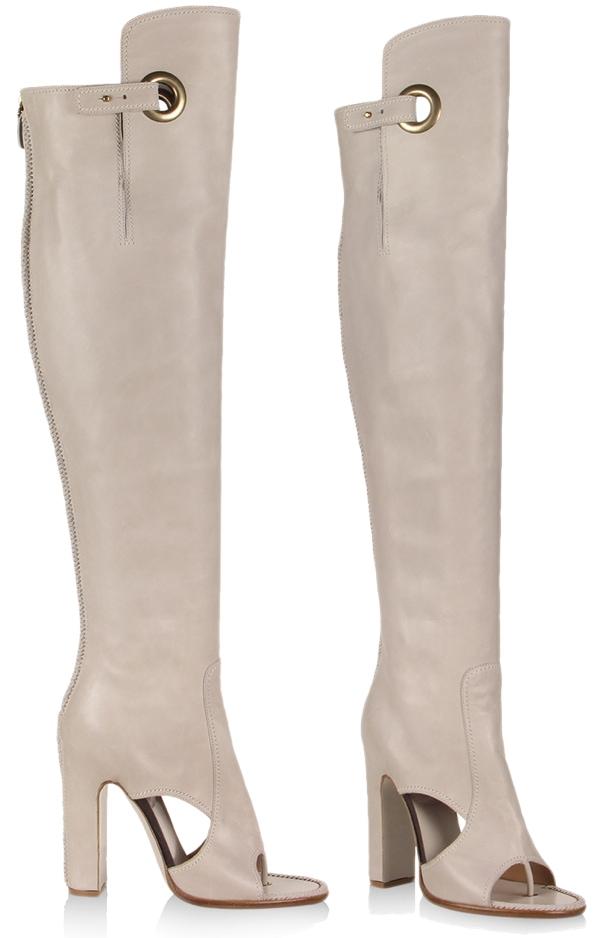 Salvatore Ferragamo Over The Knee Boots