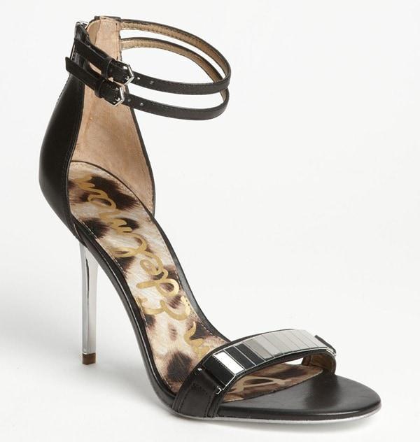 """Sam Edelman """"Allie"""" Sandals in Black"""