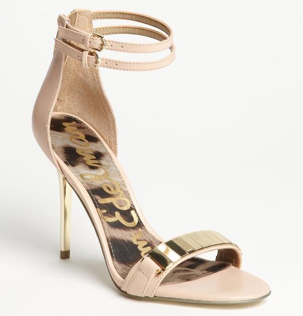 """Sam Edelman """"Allie"""" Sandals in Peach"""