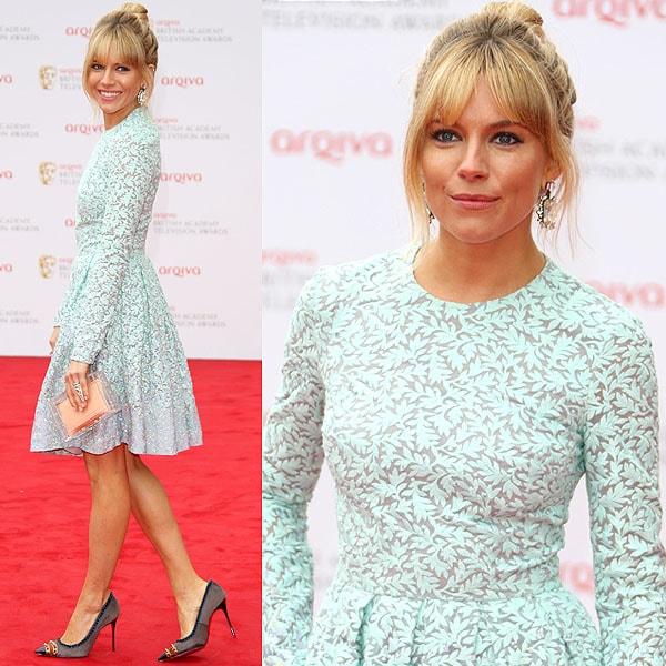 Sienna Miller The Arqiva British Academy Television Awards