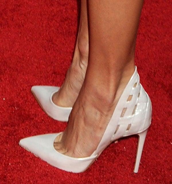 Stacy Keibler wearing Alejandro Ingelmo 'Athena' heels