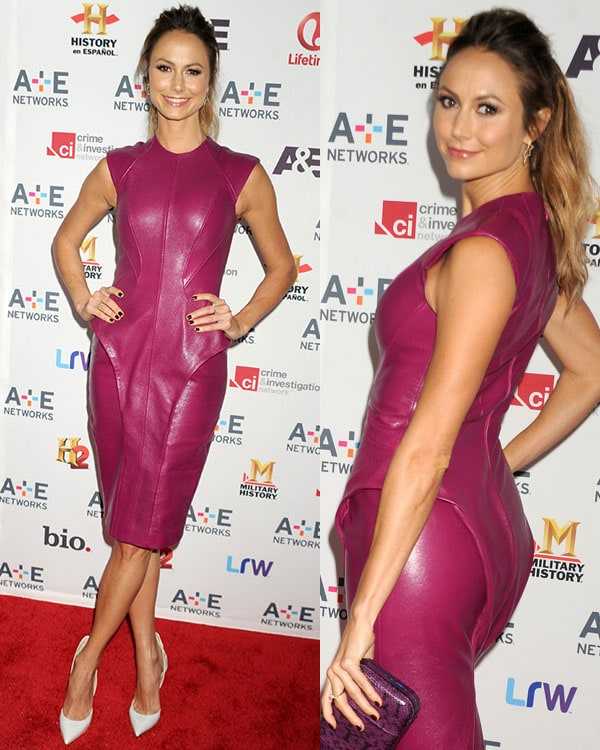 Stacy Keibler at A+E Networks 2013 Upfront at Lincoln Center on May 8, 2013