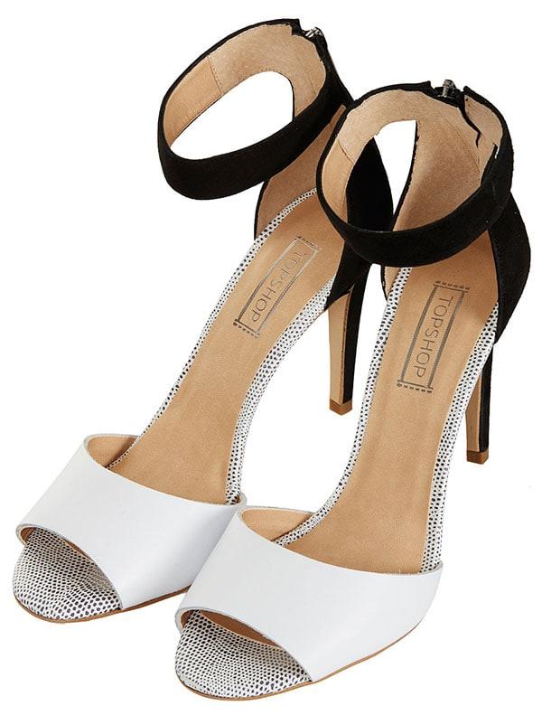 Topshop Rees 2 Part Hi Sandals