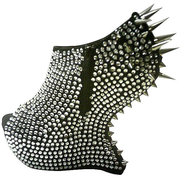 Walk Flowers Customized Spiked Heel-Less Platforms