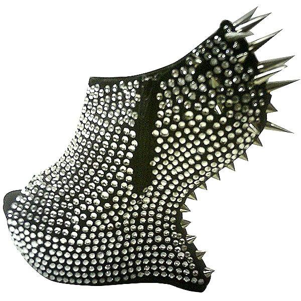 Walk Flowers Customized Spiked Heel-Less Platforms