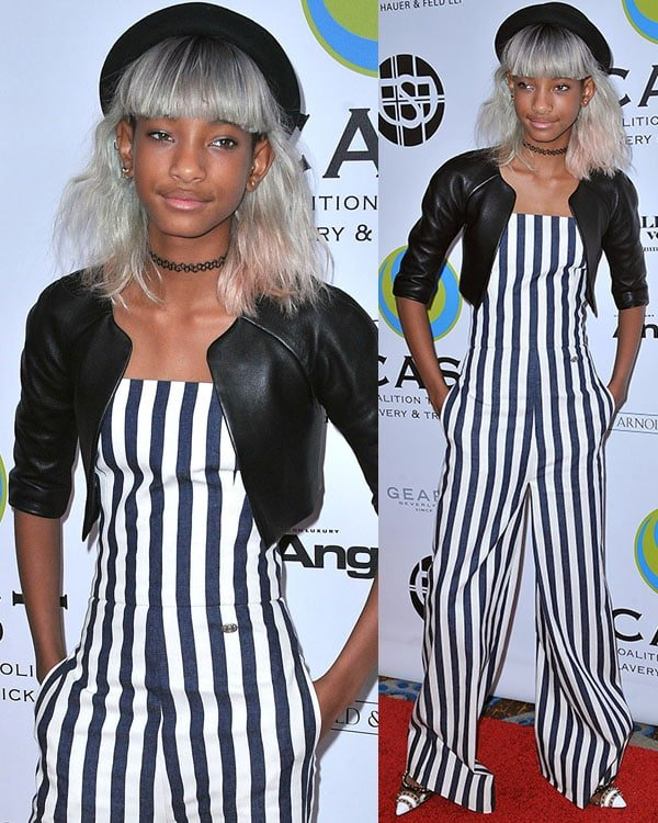 Willow Smith at the 15th Annual From Slavery To Freedom Event held at the Sofitel on May 9, 2013