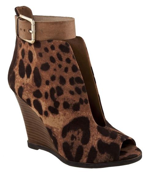ZIGIsoho Strut Booties in Leopard