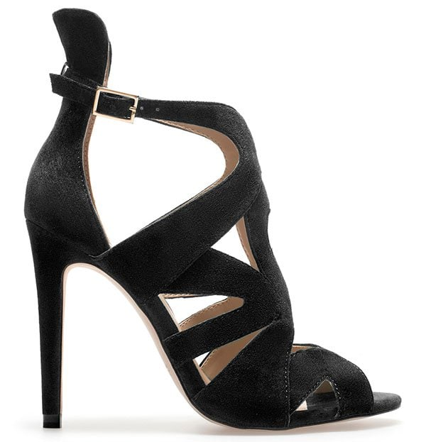 Zara Strappy High Heel Sandals