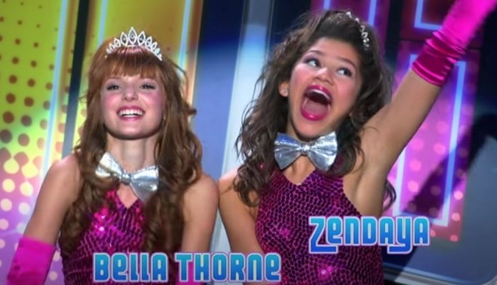 Bella Thorne and Zendaya had just turned 13 and 14 respectively when the first episode of Shake It Up aired on November 7, 2010