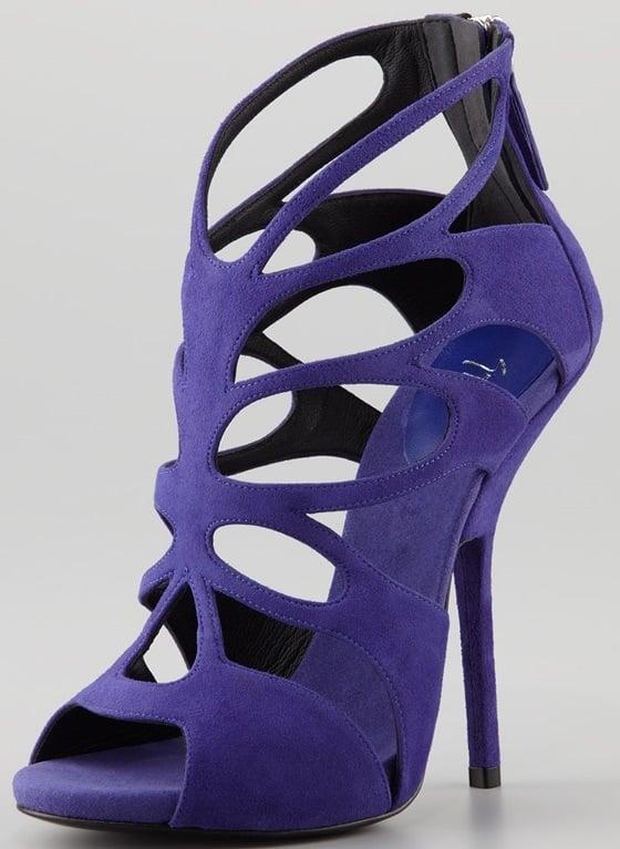 Giuseppe Zanotti Butterfly Cutout Sandals