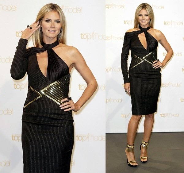 Heidi Klum at a photo call for 'Germany's Next Top Model' in Berlin, Germany on May 27, 2013