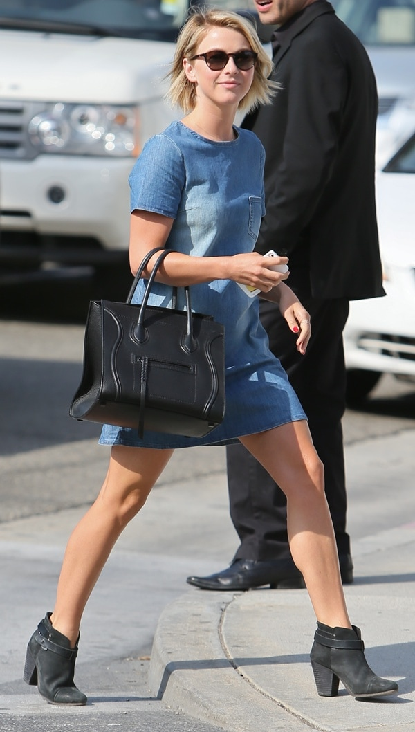 Julianne Hough was absolutely glowing while walking the streets in Beverley Hills