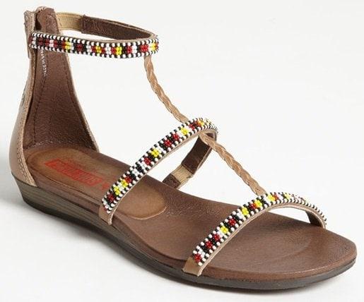 Pikolinos 'Alcudia Maasai 2' Sandals in Castor