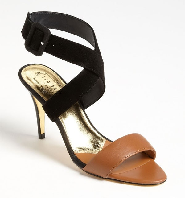 Ted Baker Jolea Sandals in Tan/Black