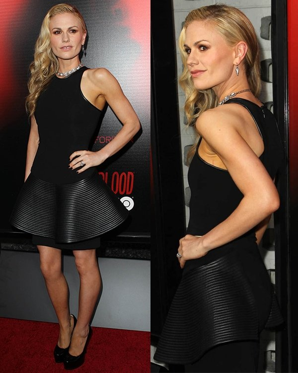 Anna Paquin attends the premiere of HBO's True Blood at ArcLight Cinemas Cinerama Dome