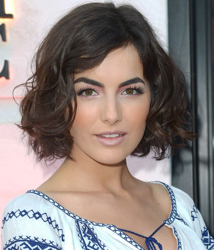 Camilla Belle attends the opening of the Beverly Hills Carolina Herrera store