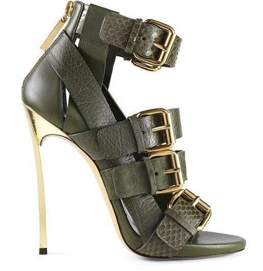 Casadei x Prabal Gurung Buckled Sandals