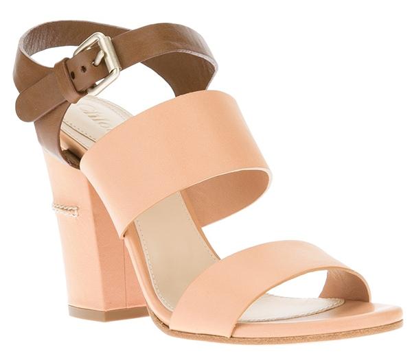 Chloe Bi-Color Sandals