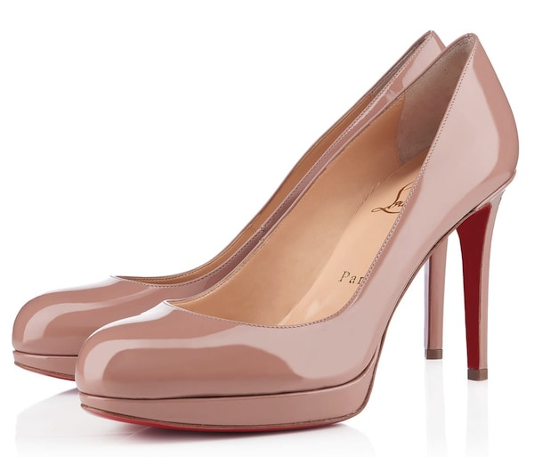 Christian Louboutin New Simple Pumps Nude