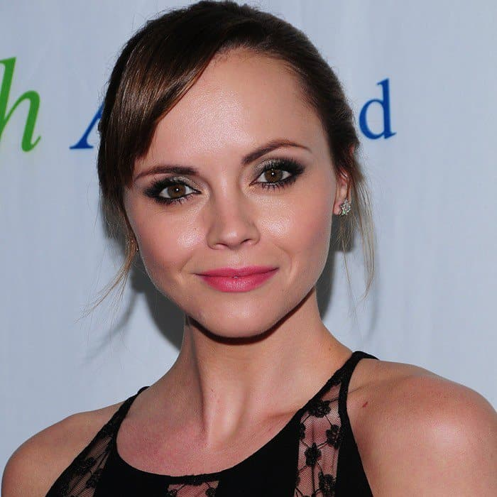 Christina Ricci at The Fresh Air Fund's Salute to American Heroes event held at Chelsea Piers in New York City on May 30, 2013