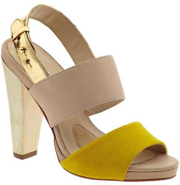 "Coye Nokes ""Hana"" Sandals in Canary"