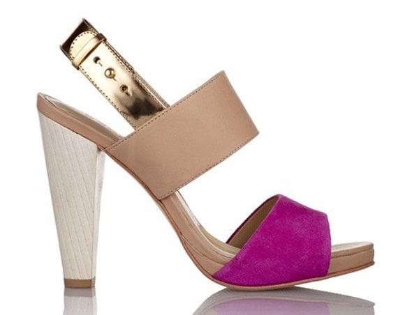 "Coye Nokes ""Hana"" Sandals in Pink"
