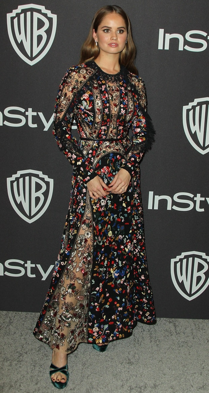 Debby Ryan at the InStyle & Warner Bros. Golden Globe After Party 2019