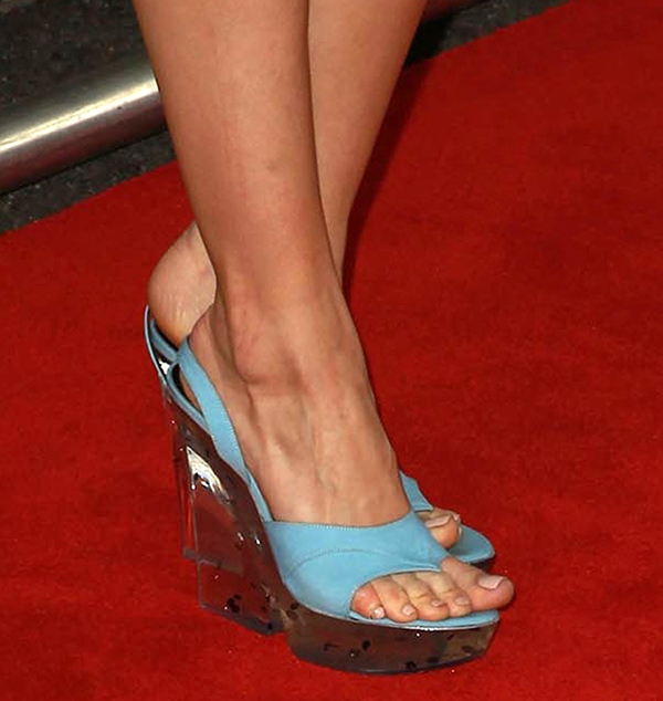 Debby Ryan showed off her hot feet in Giulietta New York shoes