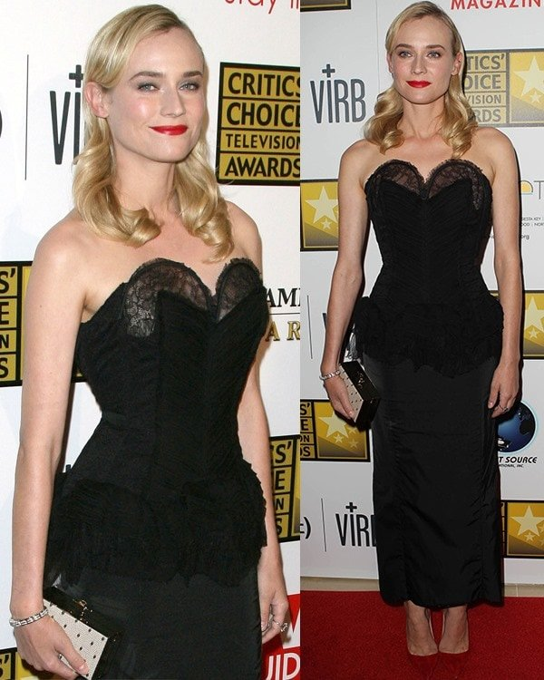 Diane Kruger at Broadcast Television Journalists Association's (BTJA) 3rd Annual Critics' Choice Television Awards