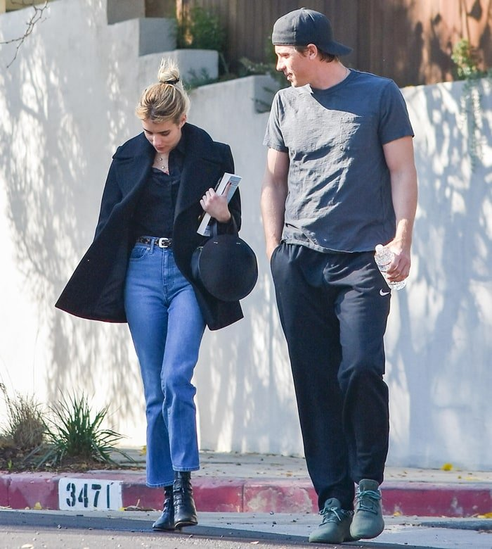 Emma Roberts and her boyfriend Garrett Hedlund