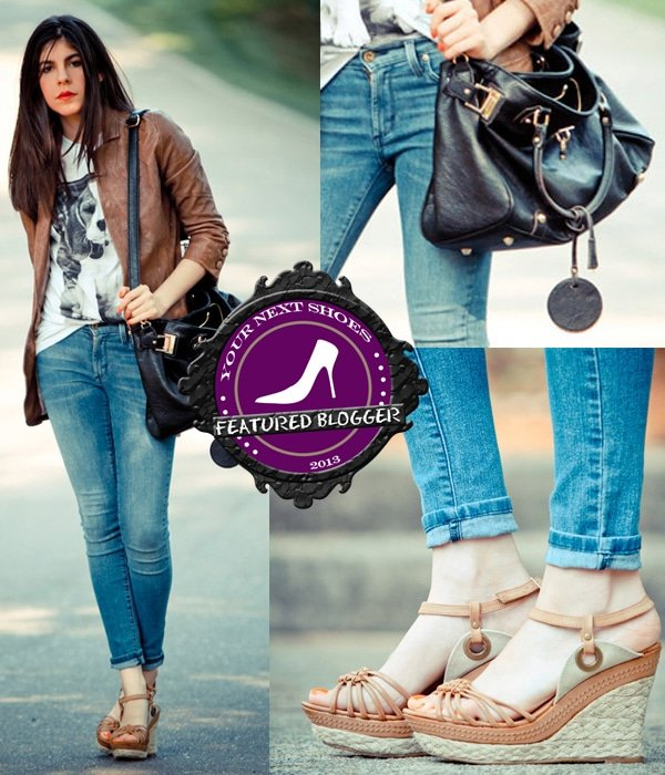 Erika of Fashion Chalet in Wanted espadrilles