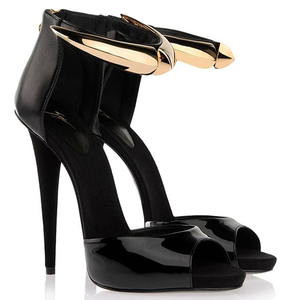Giuseppe Zanotti Bon-Ton Sandals Black