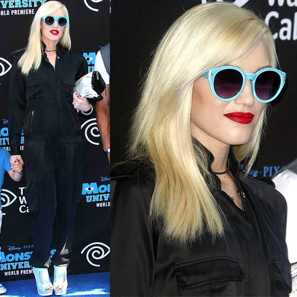 Gwen Stefani Monsters University world premiere