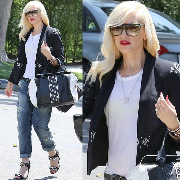 Gwen Stefani birthday party Jessica Alba