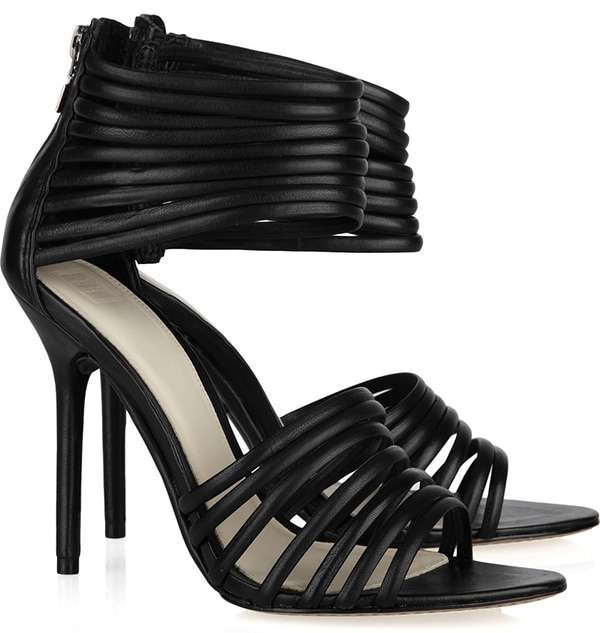 Herve Leger Strappy Sandals