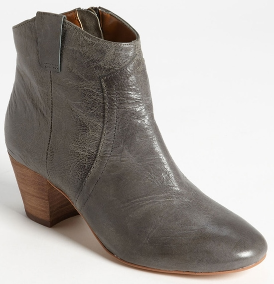 Hinge 'Jody' Booties With Western-Inspired Stitching