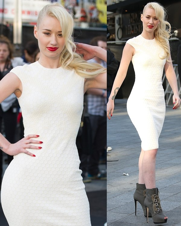 Iggy Azalea at the UK film premiere of World War Z held at Empire Leicester Square in London on June 2, 2013
