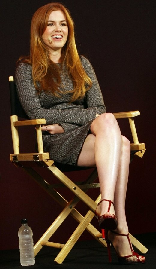 The Apple Store on London's Regent street hosts a Q&A with Isla Fisher