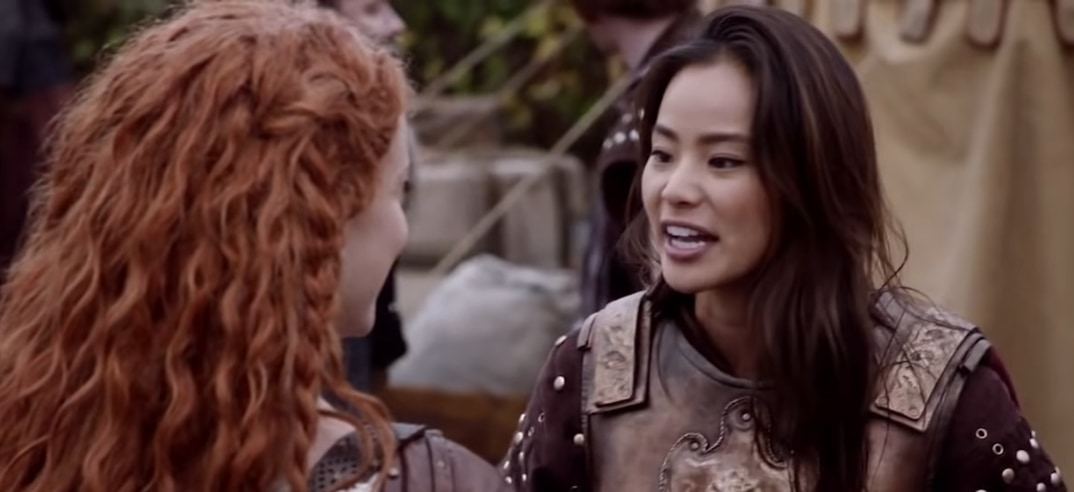 Jaime Chung played the recurring role of Mulan in the ABC fantasy television series Once Upon a Time