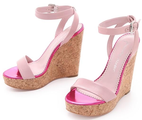 Jean-Michel Cazabat Wooster Wedge Sandals