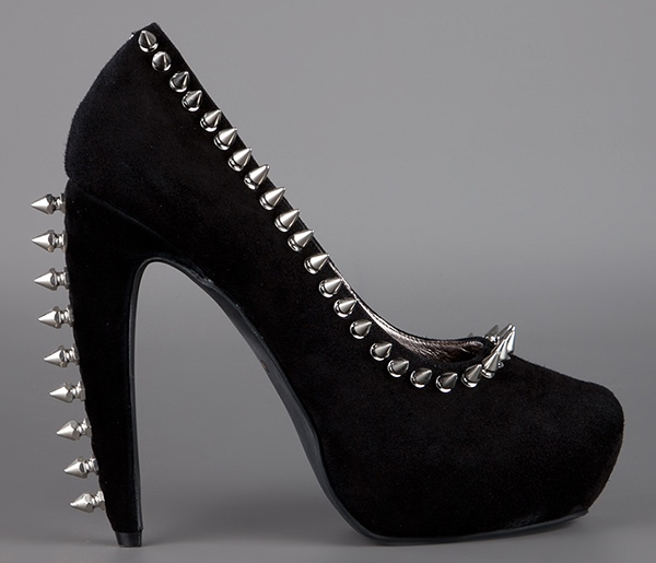 Spiked Jeffrey Campbell Madame Pumps