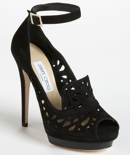 Jimmy Choo 'Kalan' Sandal Black