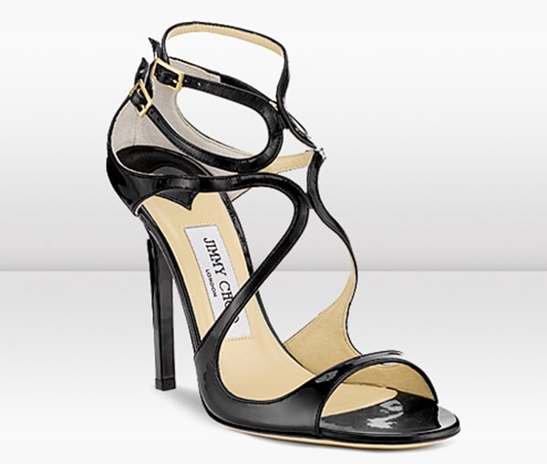 Jimmy Choo Lance Sandals Black